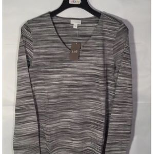 J jill Medium space Dyed Long sleeve top NEW !!!